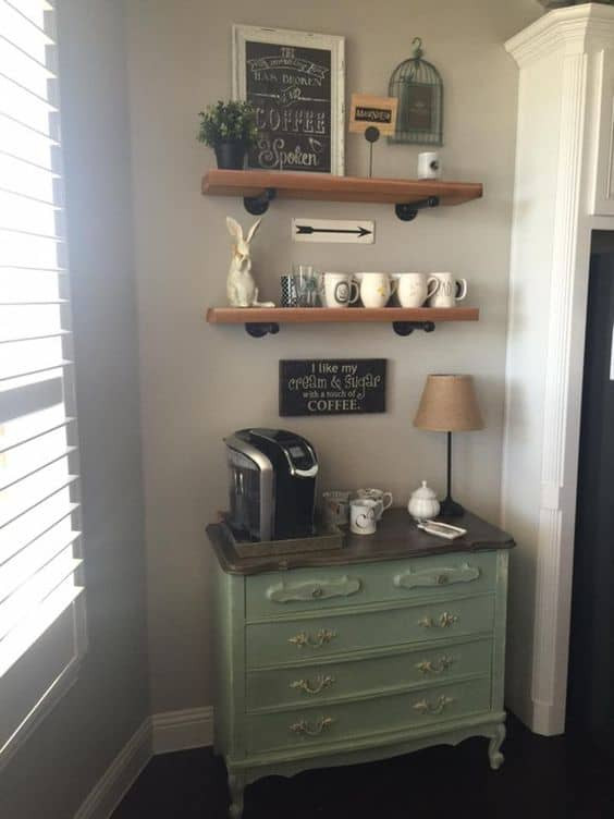 Best ideas about DIY Coffee Bars . Save or Pin 49 Exceptional DIY Coffee Bar Ideas for Your Cozy Home Now.