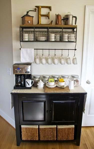 Best ideas about DIY Coffee Bars . Save or Pin The House Enthusiast The Coffee Bar Trend Now.