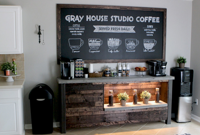 Best ideas about DIY Coffee Bars . Save or Pin DIY Coffee Bar Now.