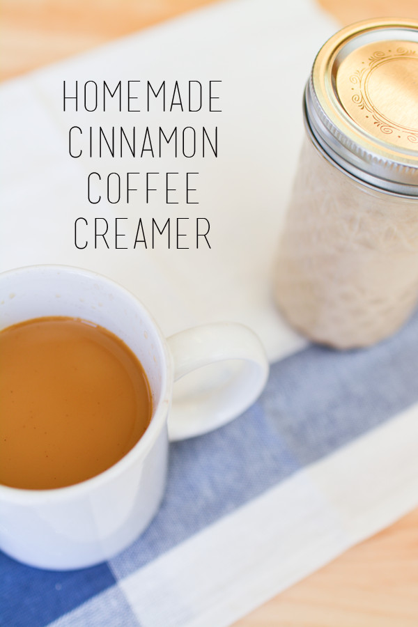 Best ideas about DIY Coffee Creamer . Save or Pin Cinnamon Homemade Coffee Creamer Recipe Cupcakes and Cutlery Now.
