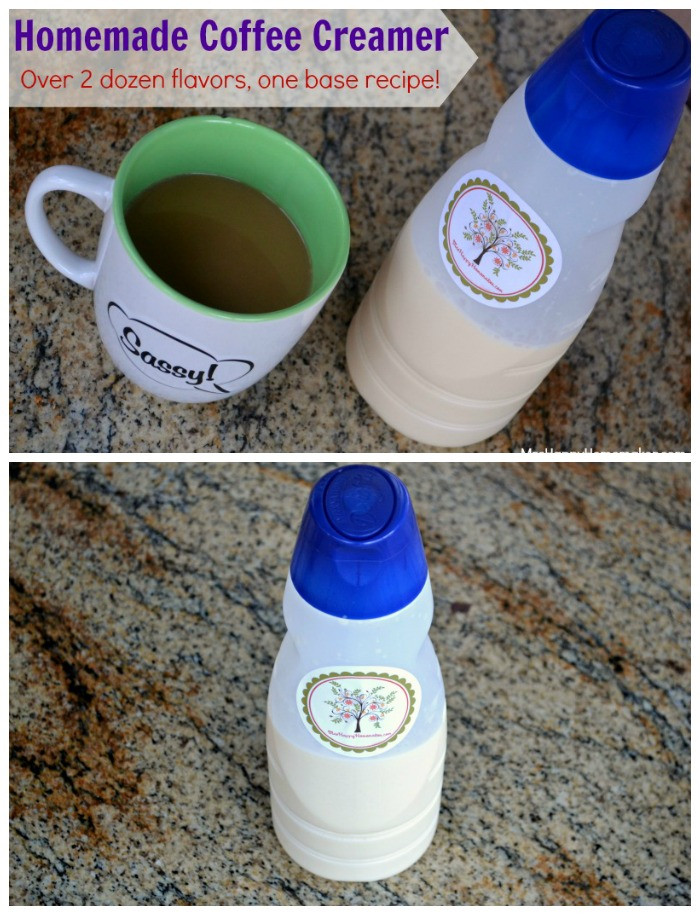 Best ideas about DIY Coffee Creamer . Save or Pin Homemade Coffee Creamer Over 2 Dozen Flavor Varieties Now.