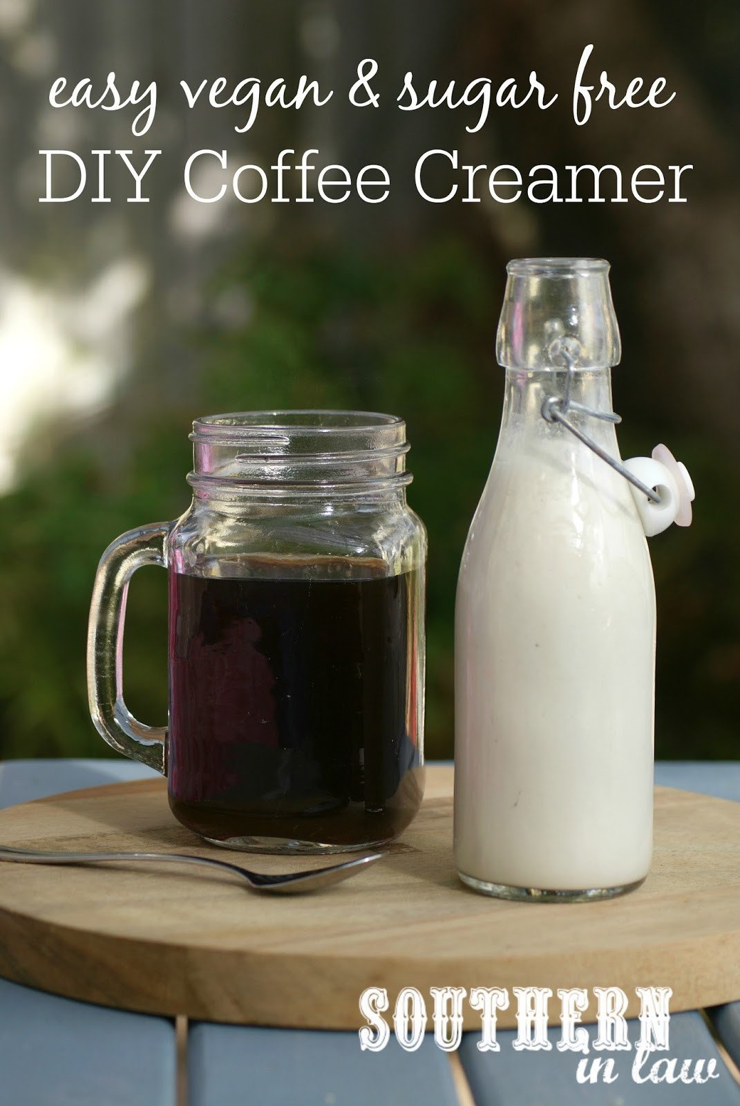 Best ideas about DIY Coffee Creamer . Save or Pin Southern In Law Recipe Easy Vegan DIY Coffee Creamer Now.