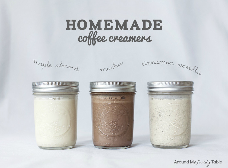 Best ideas about DIY Coffee Creamer . Save or Pin Homemade Coffee Creamers Around My Family Table Now.