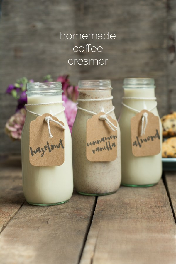 Best ideas about DIY Coffee Creamer . Save or Pin Homemade Coffee Creamer • this heart of mine Now.