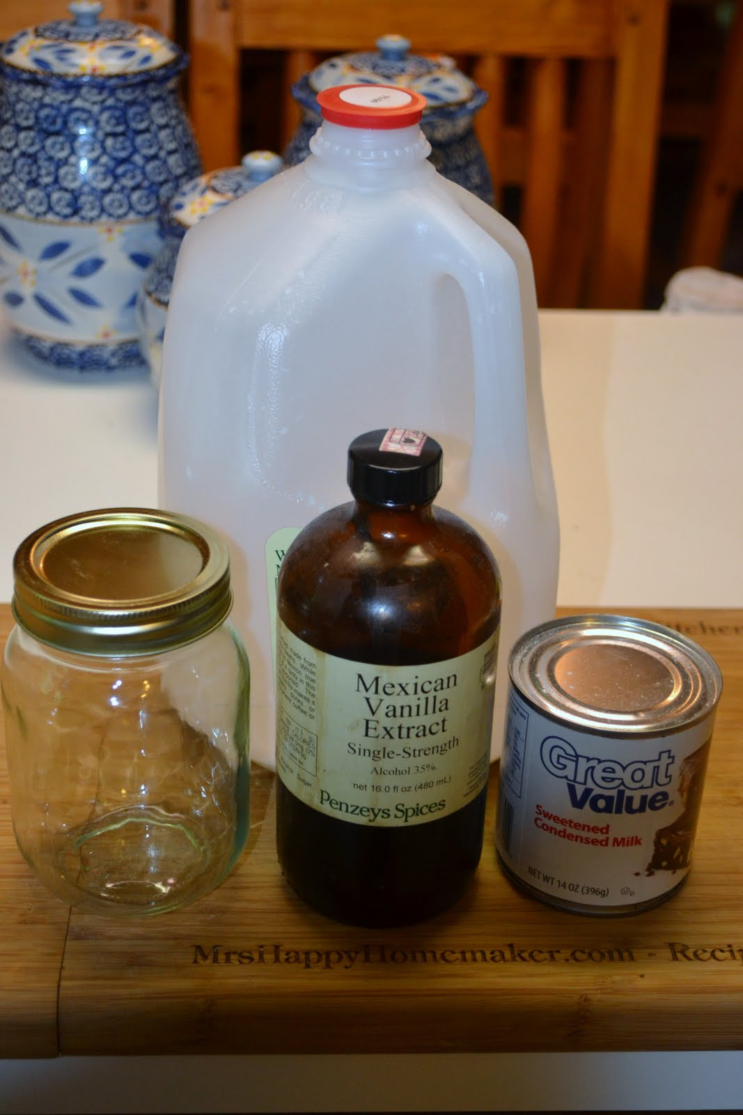 Best ideas about DIY Coffee Creamer . Save or Pin Homemade French Vanilla Coffee Creamer Mrs Happy Homemaker Now.