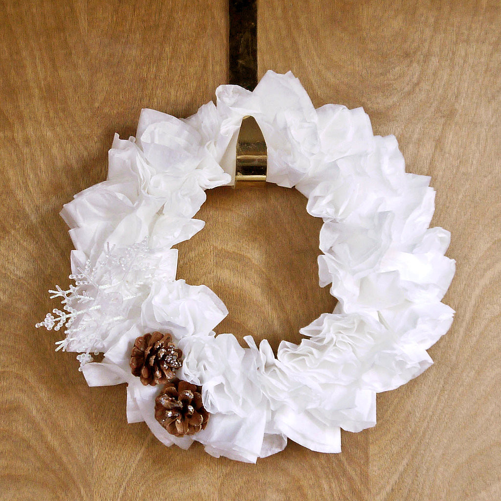 Best ideas about DIY Coffee Filter . Save or Pin DIY Coffee Filter Wreath Now.