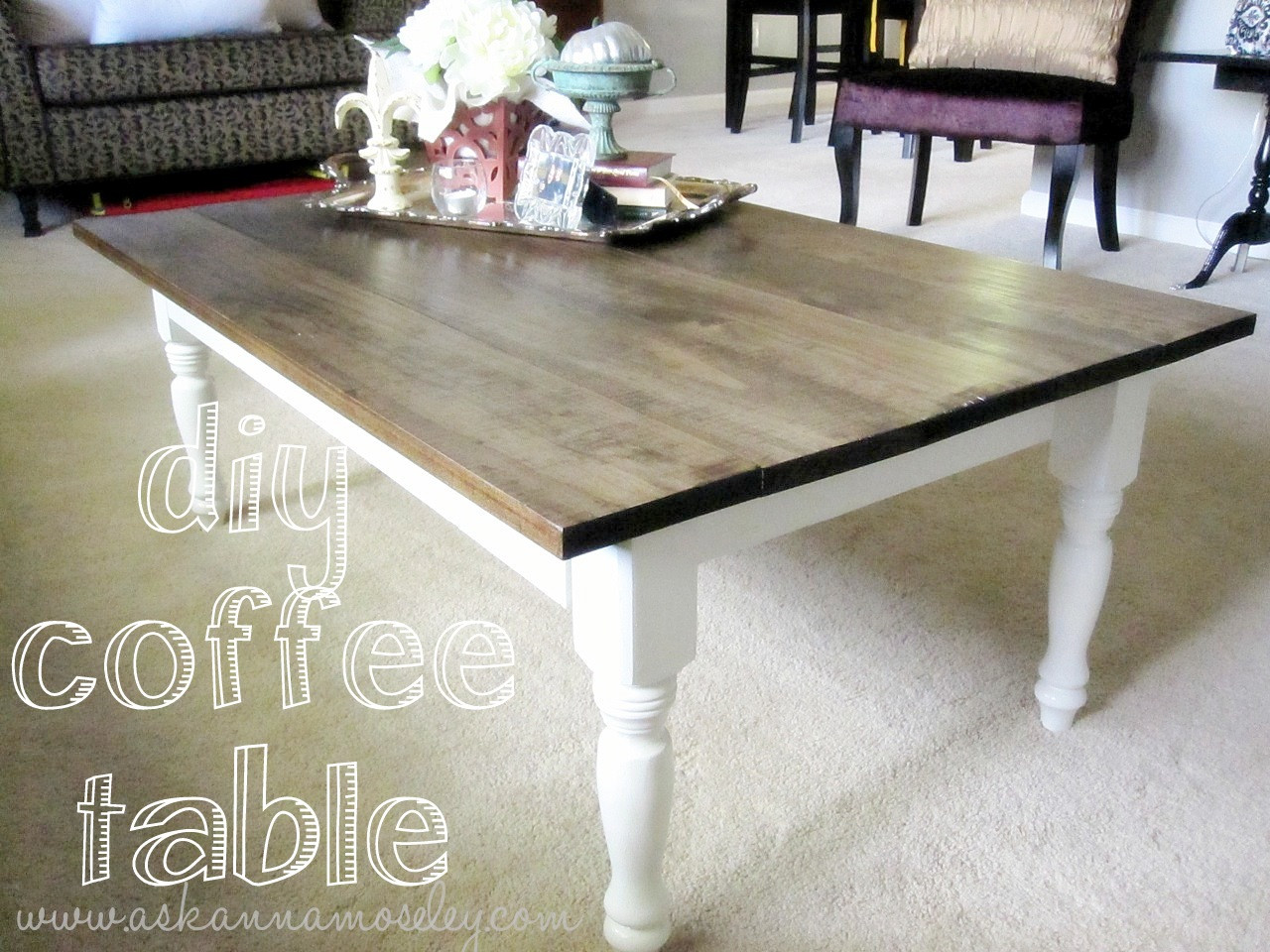 Best ideas about DIY Coffee Table Pinterest . Save or Pin DIY Coffee Table Pinterest Inspired Ask Anna Now.