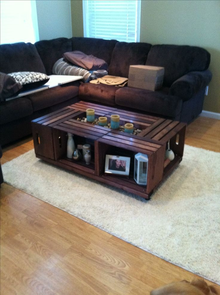 Best ideas about DIY Coffee Table Pinterest . Save or Pin Coffee Table Diy Pinterest WoodWorking Projects & Plans Now.