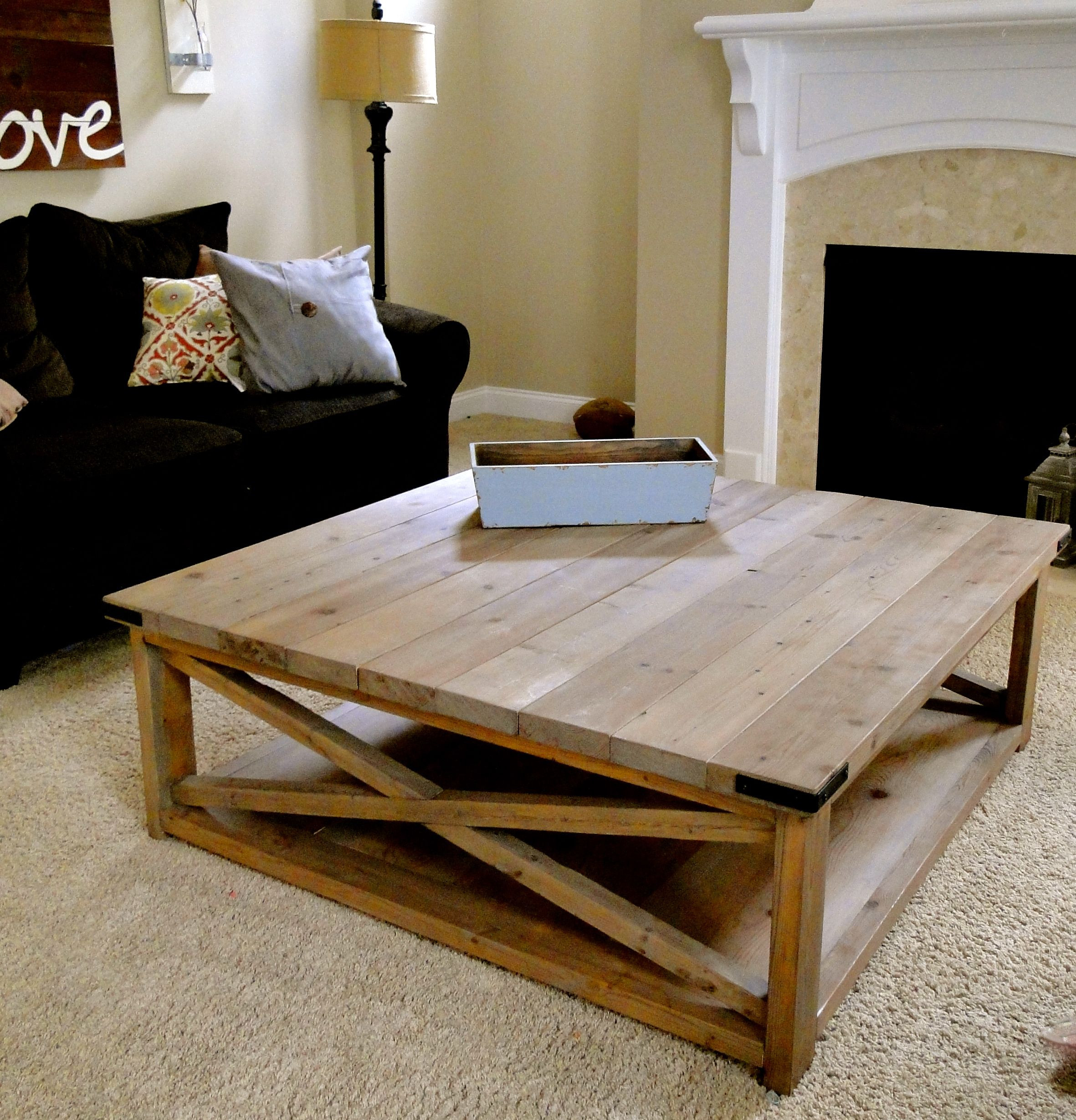 Best ideas about DIY Coffee Table Pinterest . Save or Pin Crazy beautiful DIY coffee table Now.