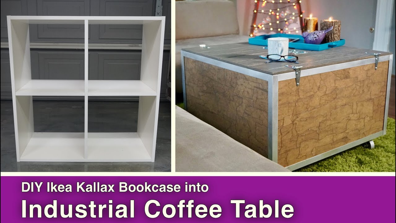 Best ideas about DIY Coffee Tables With Storage . Save or Pin Ikea Hack DIY Coffee Table with Storage Now.