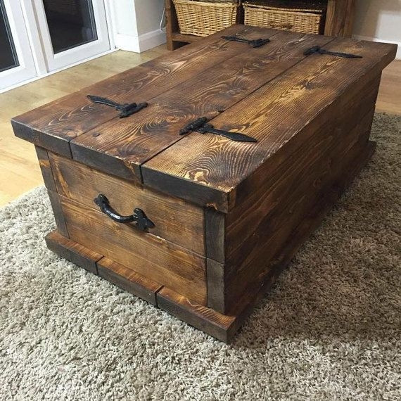 Best ideas about DIY Coffee Tables With Storage . Save or Pin 50 Rustic Storage DIY Coffee Tables Now.