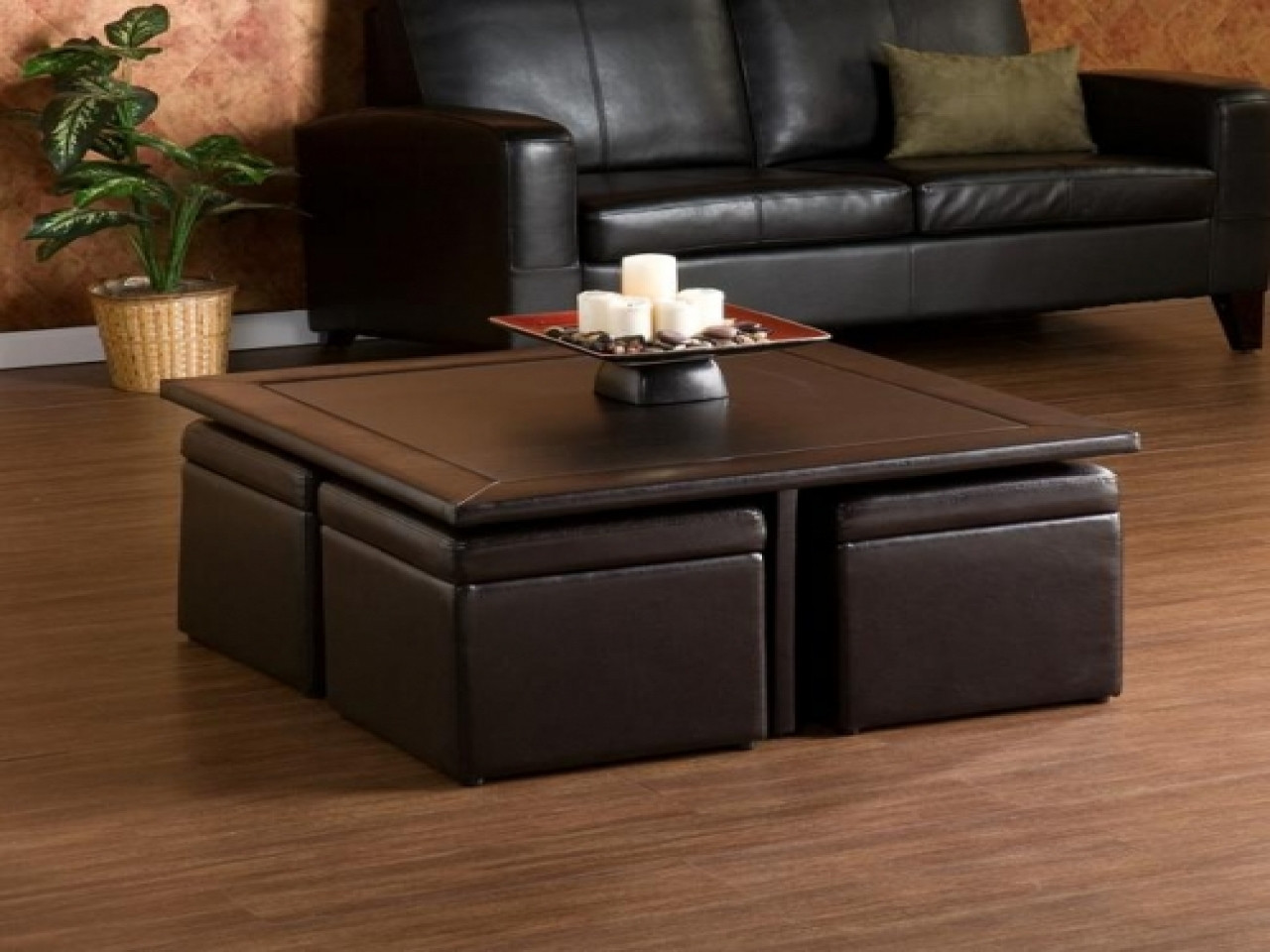 Best ideas about DIY Coffee Tables With Storage . Save or Pin Storage seating cubes diy coffee table ottoman storage Now.