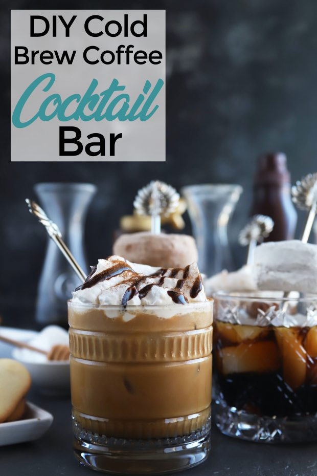 Best ideas about DIY Cold Brew Coffee . Save or Pin DIY Cold Brew Coffee Cocktail Bar Cake n Knife Now.