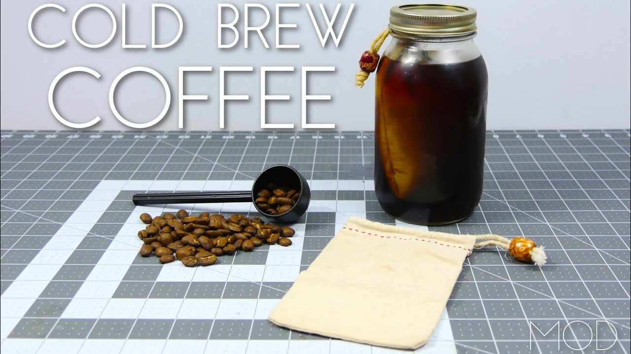 Best ideas about DIY Cold Brew Coffee . Save or Pin Mini MOD Monday DIY Cold Brew Coffee Maker Now.
