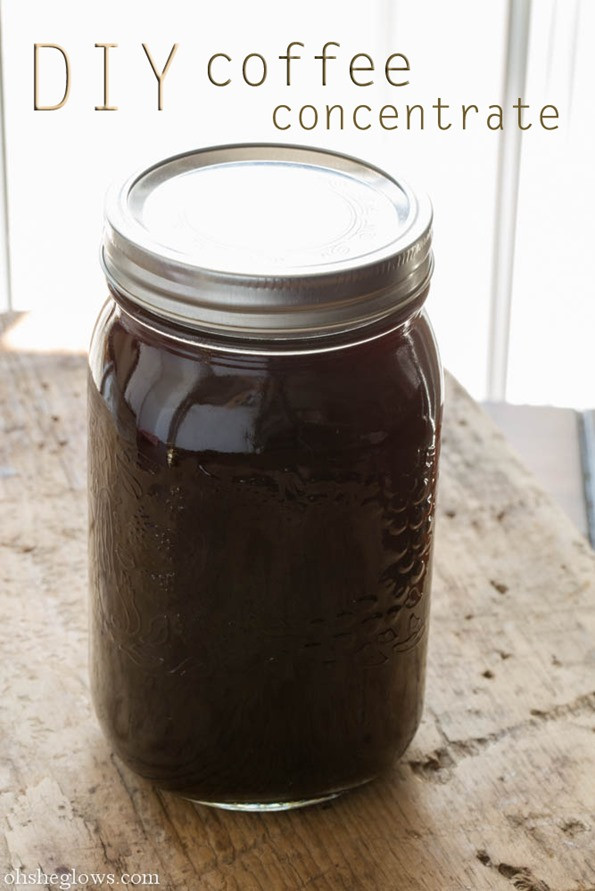 Best ideas about DIY Cold Brew Coffee . Save or Pin DIY Coffee Concentrate Speedy Almond Milk Iced Coffee Now.