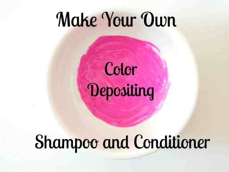 Best ideas about DIY Color Depositing Conditioner . Save or Pin Color depositing shampoo and conditioner diy tutorial Now.