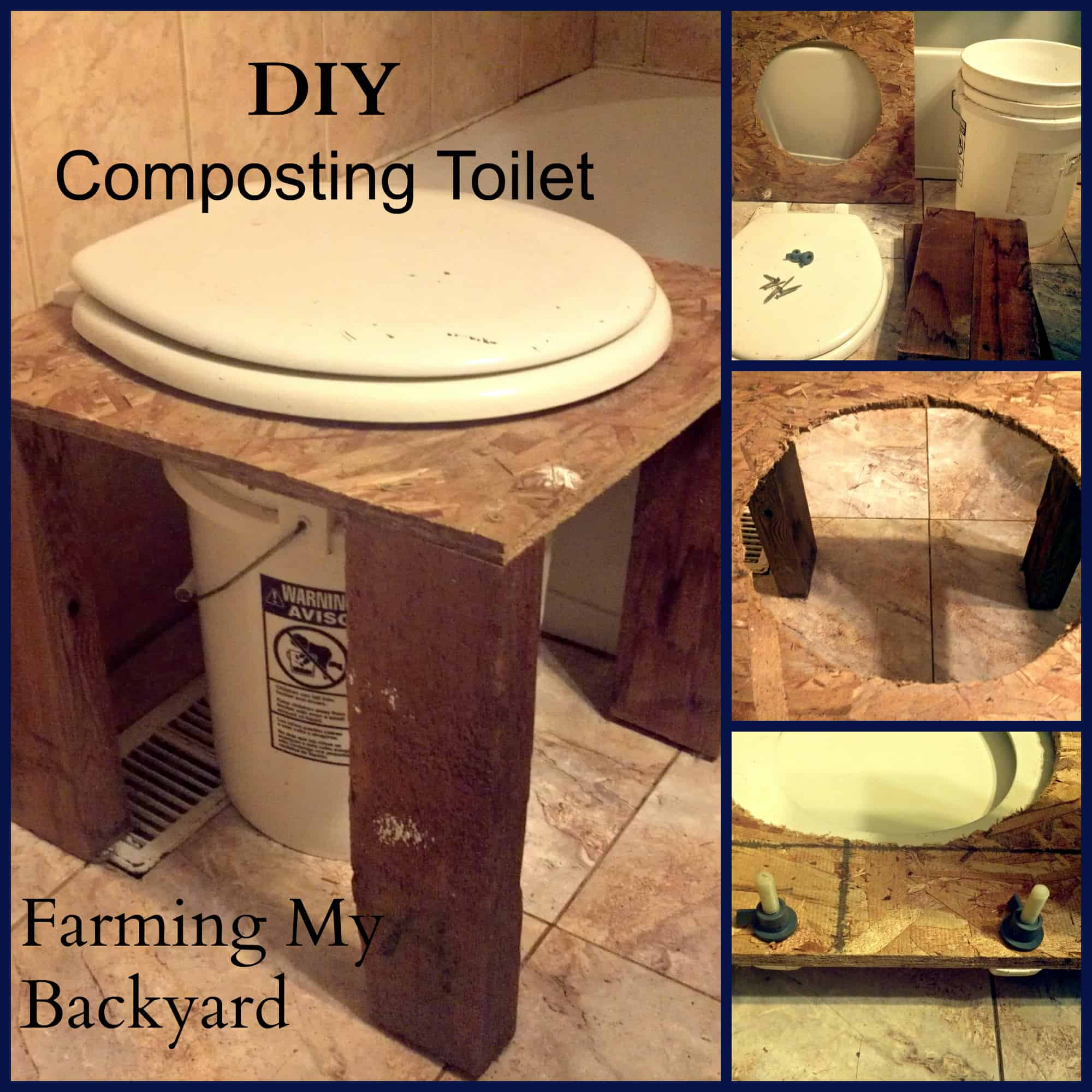 Best ideas about DIY Composting Toilet . Save or Pin DIY posting Toilet Farming My Backyard Now.