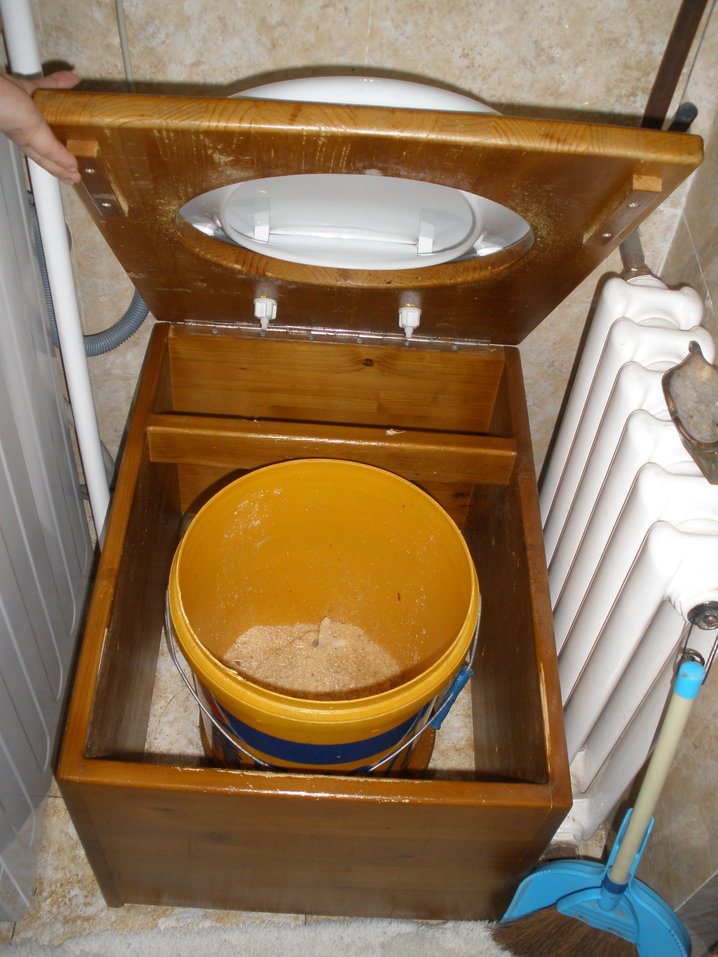 Best ideas about DIY Composting Toilet . Save or Pin DIY Portable post Toilet System for Under $50 Tiny Now.
