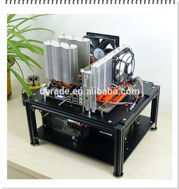 Best ideas about DIY Computer Case . Save or Pin Pc d009mq Personality Pc Acrylic Diy puter Case Black Now.