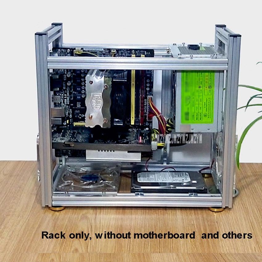 Best ideas about DIY Computer Case . Save or Pin DIY Aluminum puter Case Desktop PC puter Chassis Now.