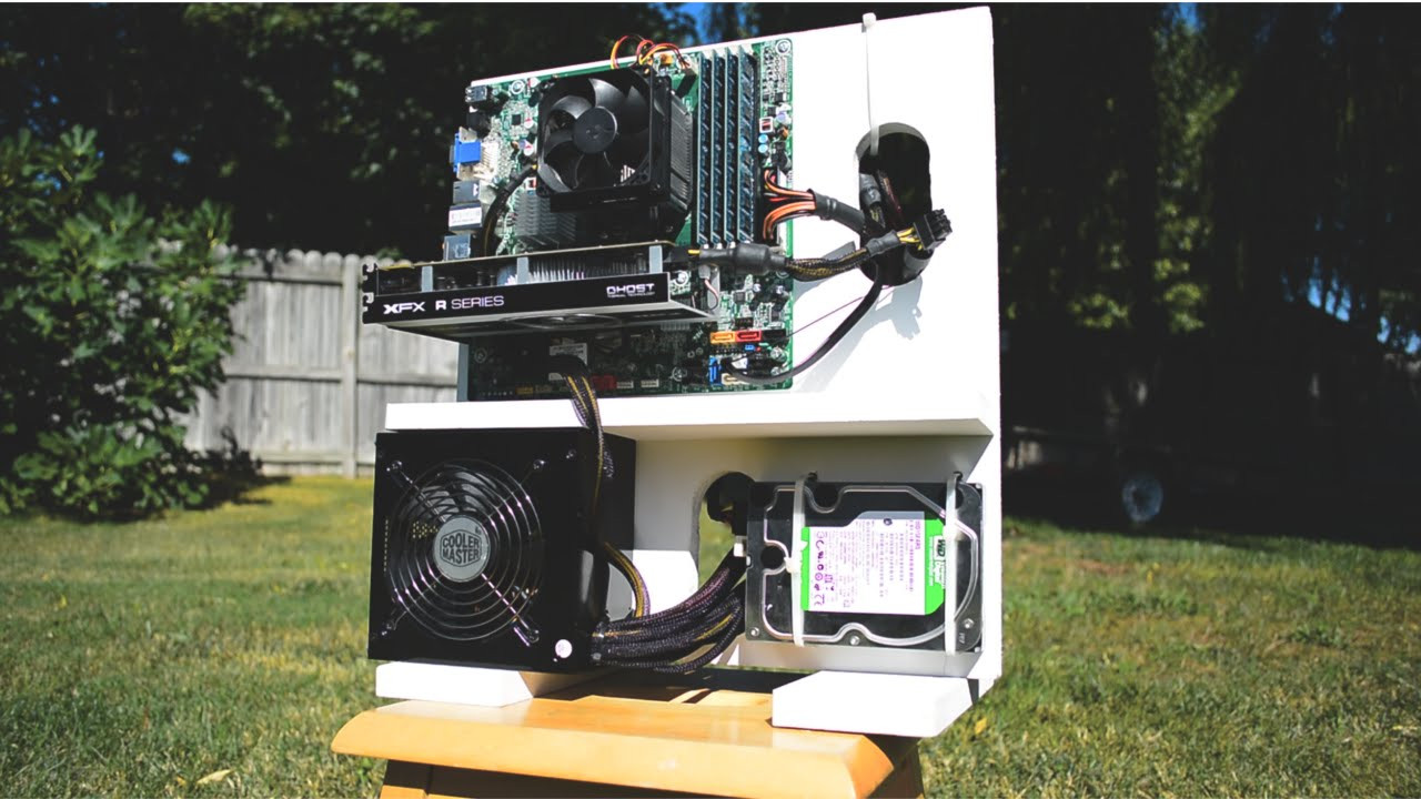 Best ideas about DIY Computer Case . Save or Pin How to make a $10 DIY Wooden Gaming PC Case Now.