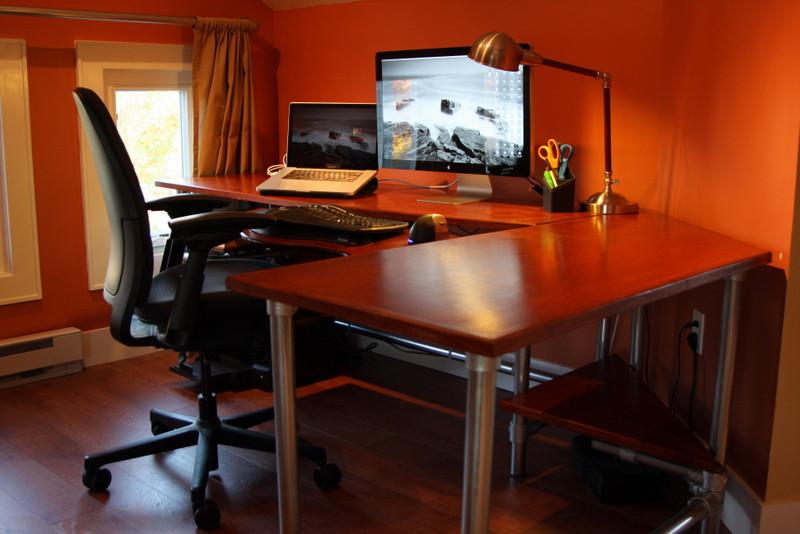 Best ideas about DIY Computer Desks . Save or Pin DIY Ergonomic puter Desk Revisited Now.