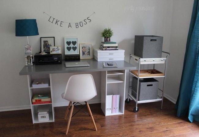 Best ideas about DIY Computer Desks . Save or Pin DIY puter Desk 5 Ways Bob Vila Now.