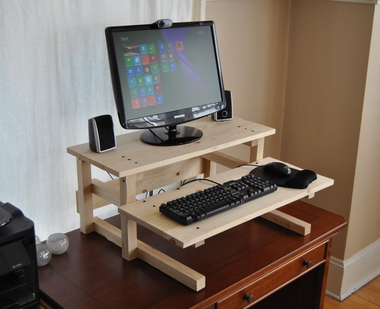 Best ideas about DIY Computer Desks . Save or Pin DIY Project Plan Standing puter Desk Now.