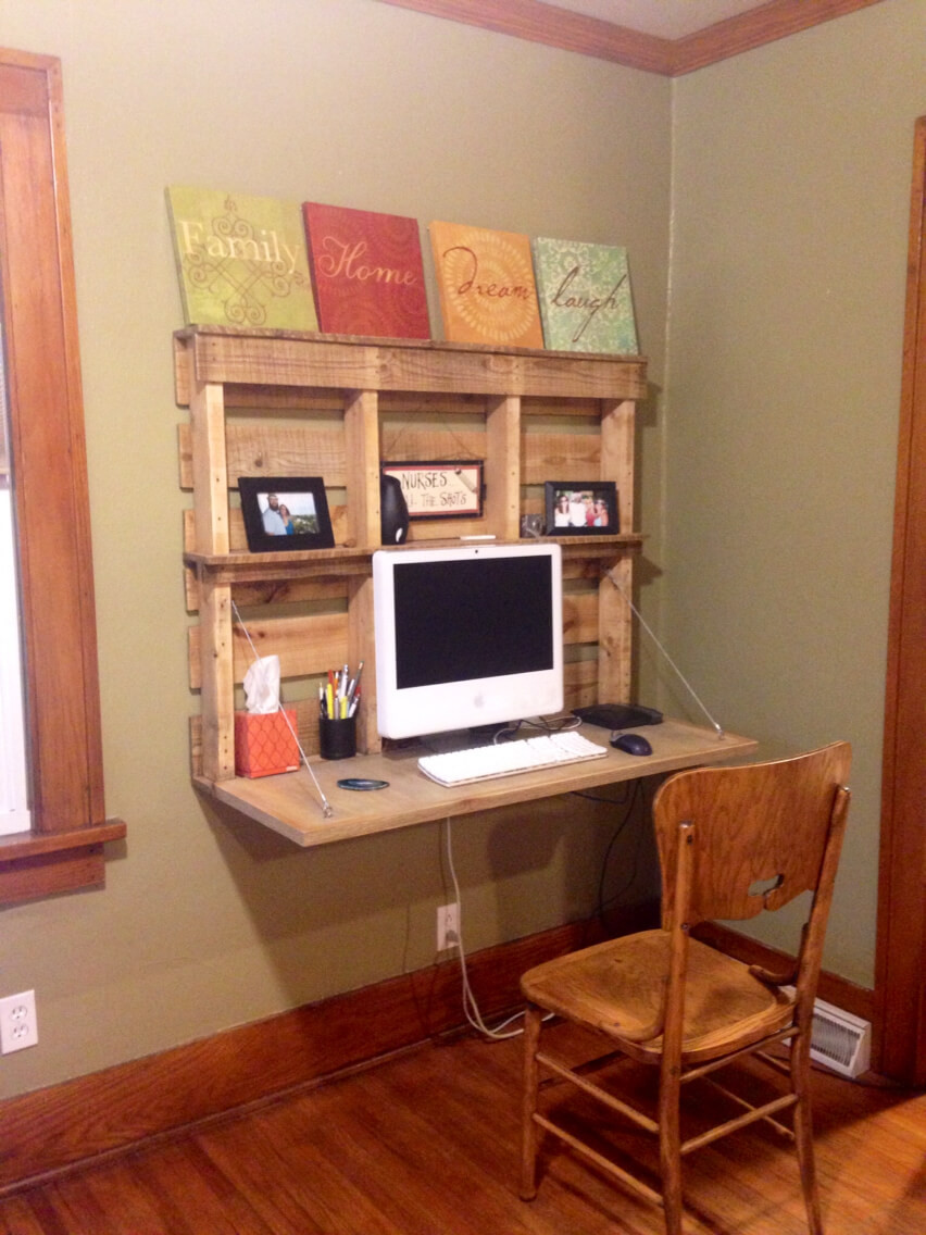 Best ideas about DIY Computer Desks . Save or Pin 21 Ultimate List of DIY puter Desk Ideas with Plans Now.
