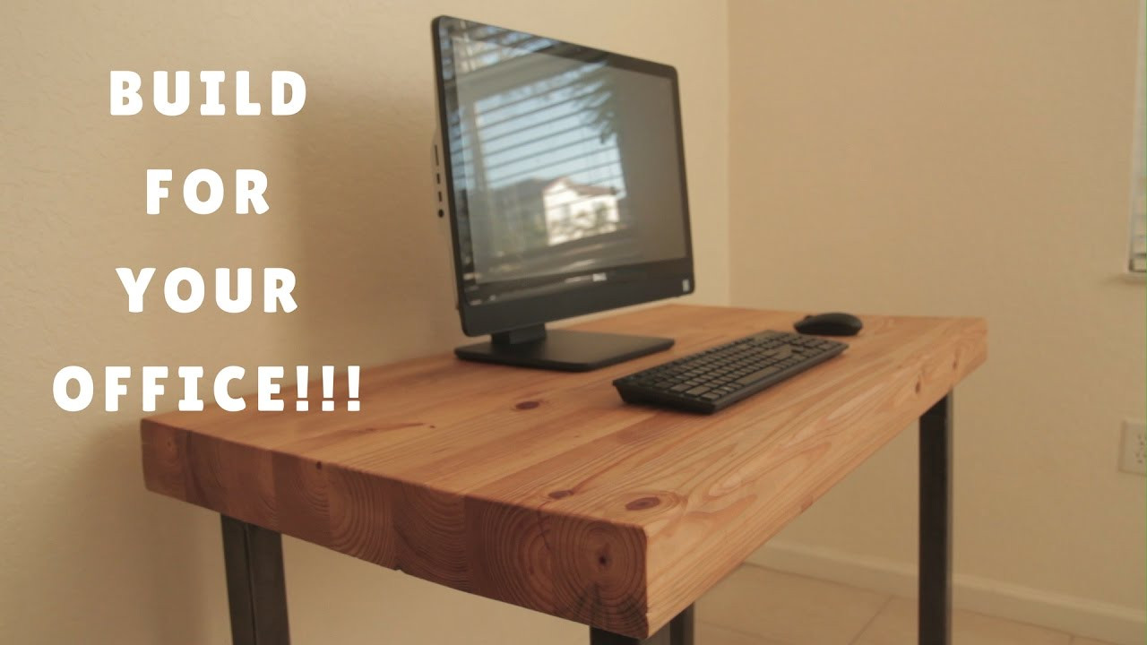 Best ideas about DIY Computer Desks . Save or Pin DIY PUTER DESK HOW I DID IT Now.