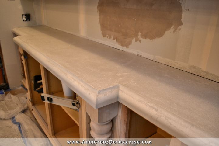Best ideas about DIY Concrete Countertops Cost . Save or Pin Finished Concrete Countertops Finishing Steps Total Cost Now.