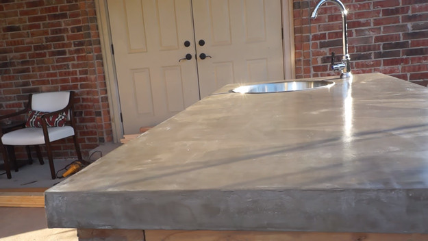 Best ideas about DIY Concrete Countertops Cost . Save or Pin Brilliant DIY Concrete Countertops Are Easier Than You Think Now.