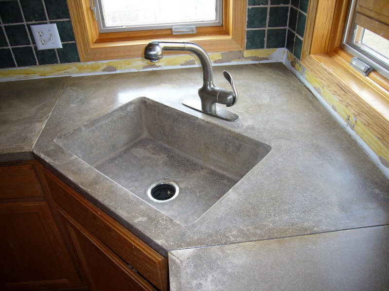 Best ideas about DIY Concrete Countertops Cost . Save or Pin Kitchen Why Choosing Concrete Countertops Michigan Now.