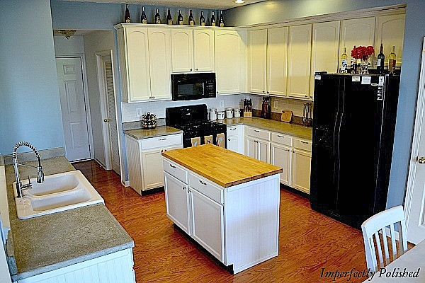 """Best ideas about DIY Concrete Countertops Cost . Save or Pin """"Summer Social"""" Guest Project — Make DIY Concrete Now."""