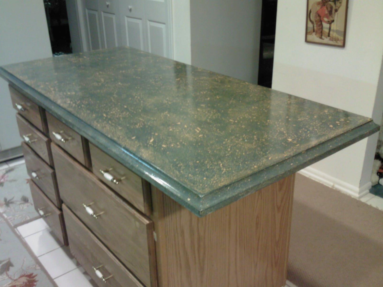 Best ideas about DIY Concrete Countertops Cost . Save or Pin How To Make Concrete Countertops Ideas Now.