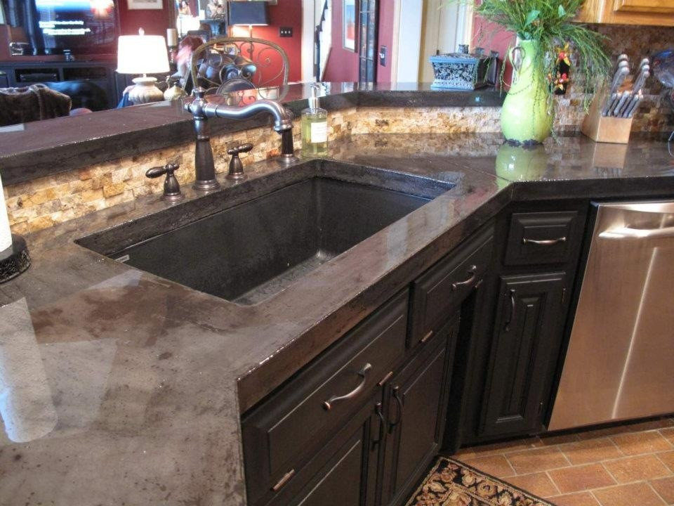 Best ideas about DIY Concrete Kitchen Countertop . Save or Pin How to pour and install concrete countertops in your Now.