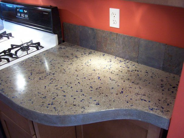 Best ideas about DIY Concrete Kitchen Countertop . Save or Pin Concrete Countertops for the Kitchen a Solid Surface on Now.