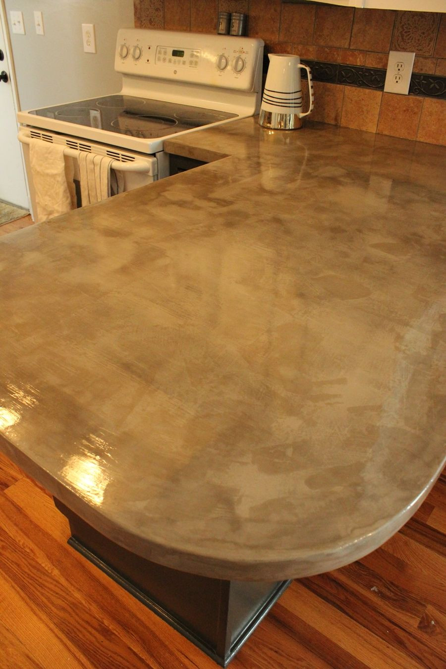 Best ideas about DIY Concrete Kitchen Countertop . Save or Pin DIY Concrete Kitchen Countertops A Step by Step Tutorial Now.