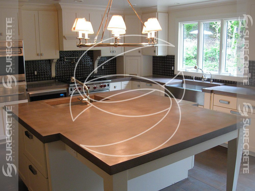 Best ideas about DIY Concrete Kitchen Countertop . Save or Pin DIY Concrete Countertops Mix Kit with Concrete Calculator Now.