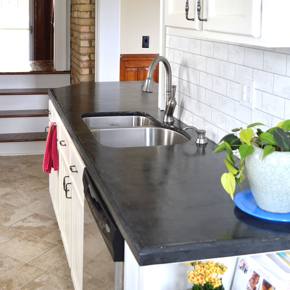 Best ideas about DIY Concrete Kitchen Countertop . Save or Pin Hometalk Now.