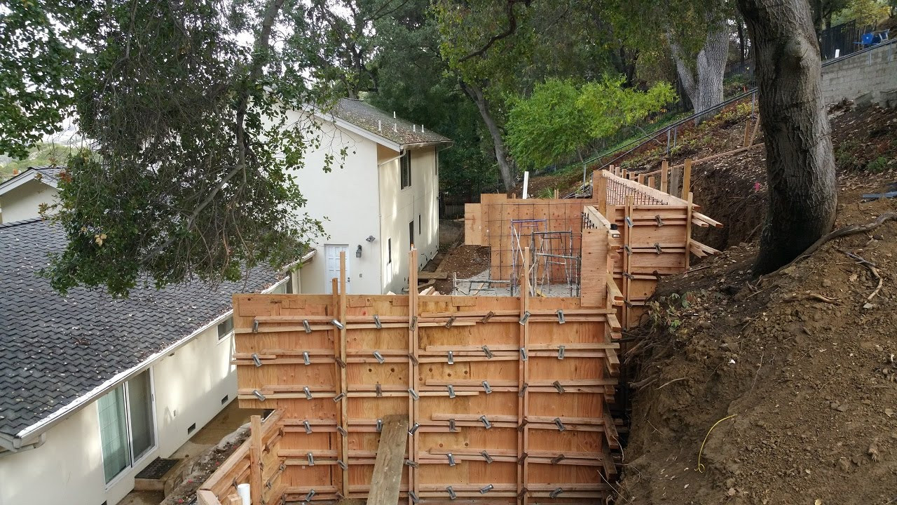 Best ideas about DIY Concrete Retaining Wall . Save or Pin How to build a concrete retaining wall All Access 510 Now.
