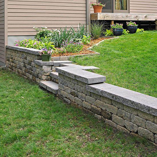 Best ideas about DIY Concrete Retaining Wall . Save or Pin 110 best images about DIY retaining wall on Pinterest Now.