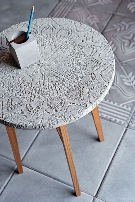 Best ideas about DIY Concrete Tables . Save or Pin Amazing DIY Concrete Coffee and Side Tables Now.
