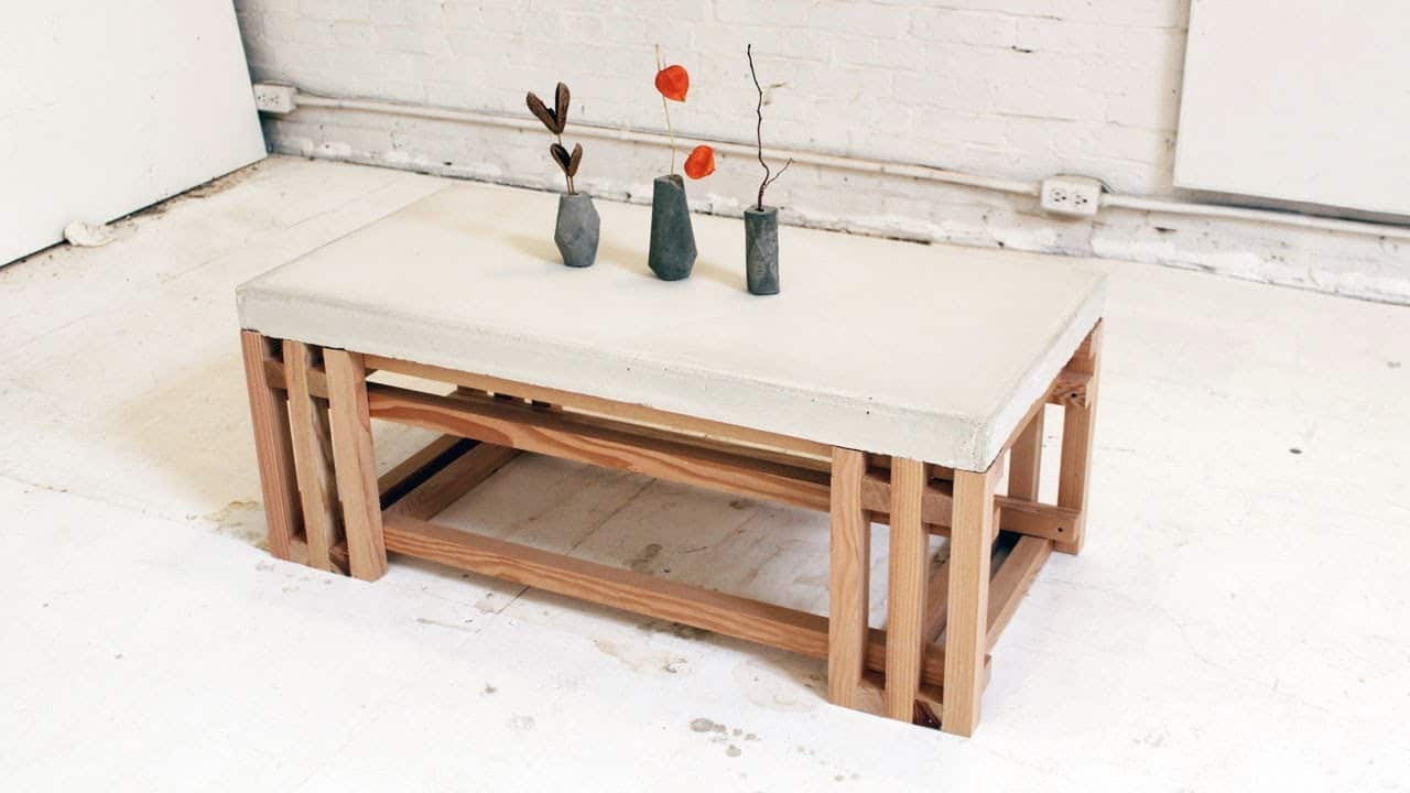 Best ideas about DIY Concrete Tables . Save or Pin 101 Simple Free DIY Coffee Table Plans Now.