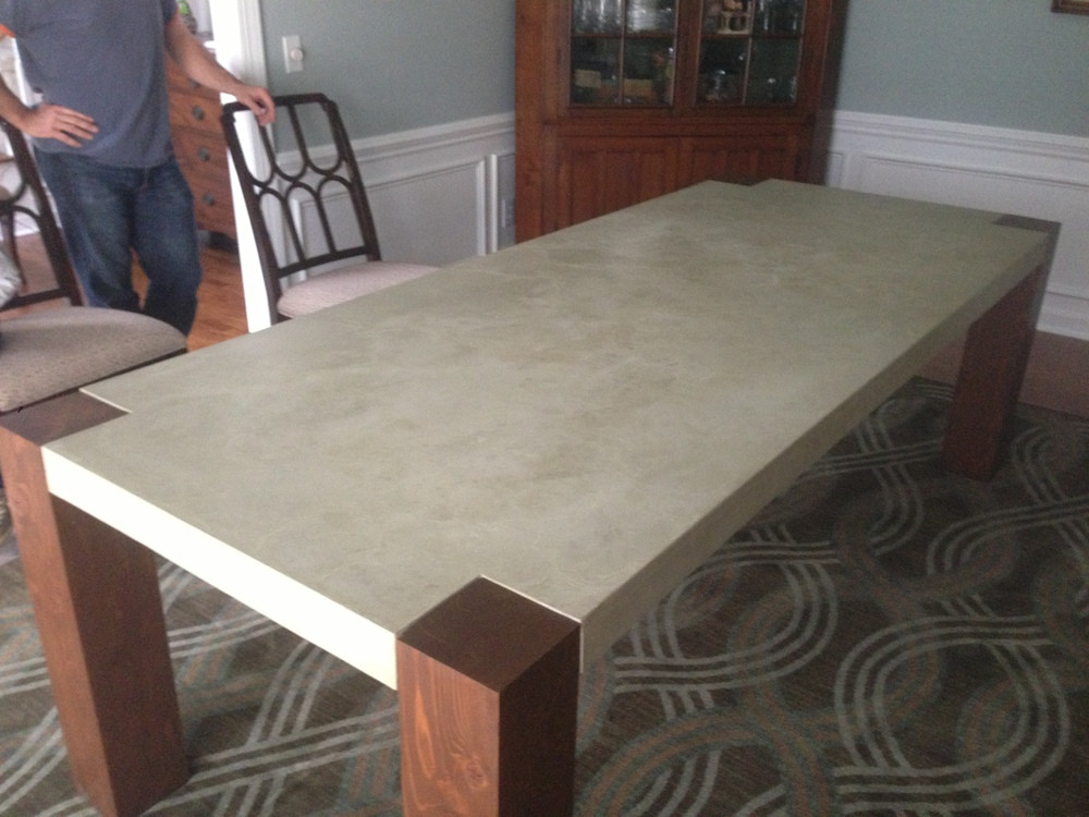 Best ideas about DIY Concrete Tables . Save or Pin How to Build a Dining Room Table 13 DIY Plans Now.