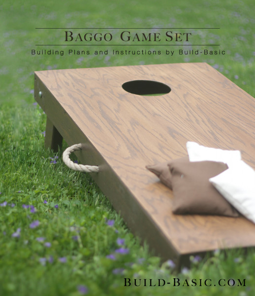Best ideas about DIY Cornhole Plans . Save or Pin Build a Baggo Game Set ‹ Build Basic Now.