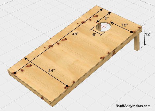 Best ideas about DIY Cornhole Plans . Save or Pin Best 20 Cornhole board dimensions ideas on Pinterest Now.