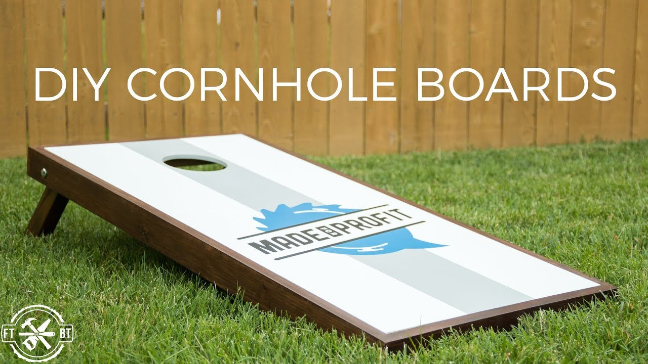 Best ideas about DIY Cornhole Plans . Save or Pin DIY Cornhole Boards with Style Now.