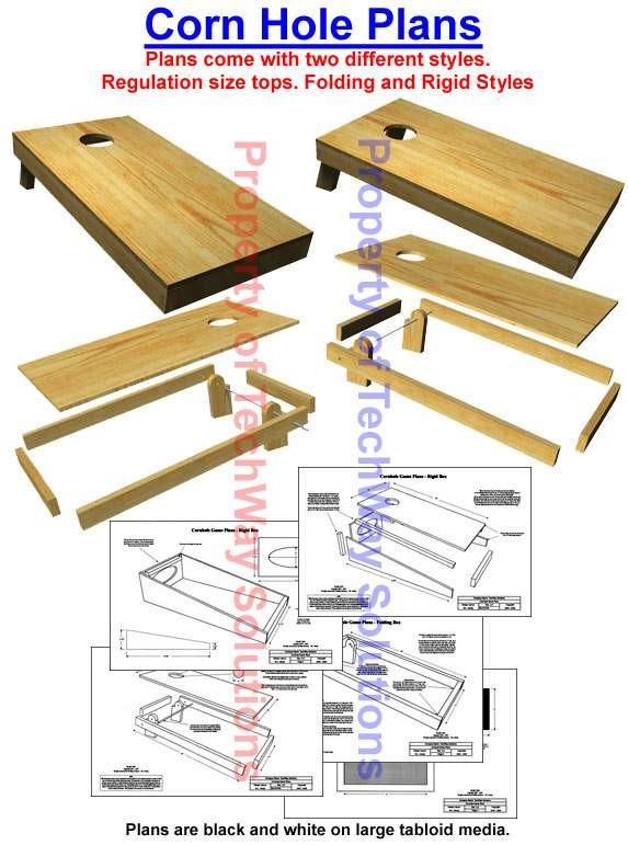 Best ideas about DIY Cornhole Plans . Save or Pin Cornhole Corn Hole Game Plans Now.