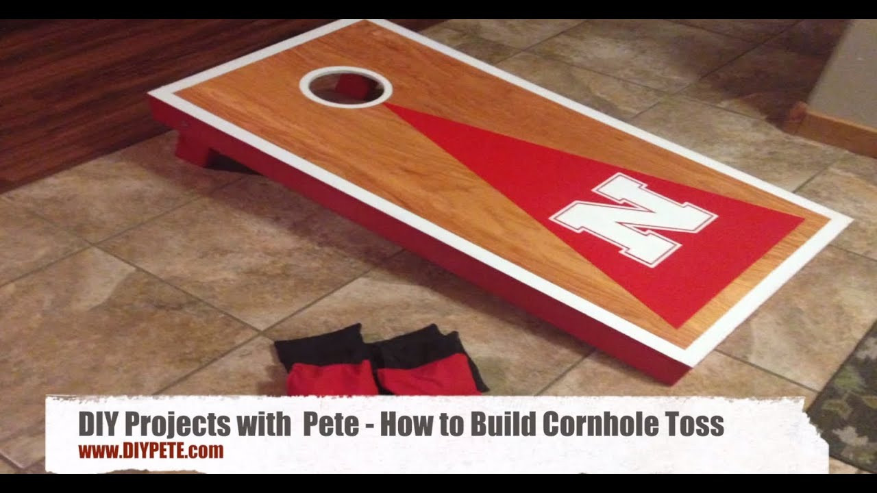 Best ideas about DIY Cornhole Plans . Save or Pin How to Build Cornhole Toss Boards A Fun and Easy DIY Now.